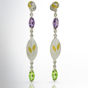Suffragette-earrings